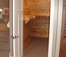 Cedar Closet Under the Staircase